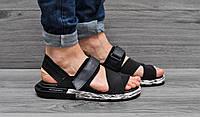 Мужские босоножки Adidas Yohji Yamamoto черные