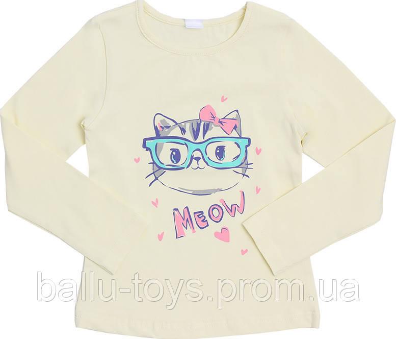 Джемпер для девочек Meow (3-5 лет)