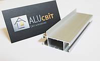 Алюминиевый профиль 2576 торговый для витрин и прилавков