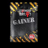 STRONGFIT GAINER 10, 40 g Стронгфит пробник гейнер