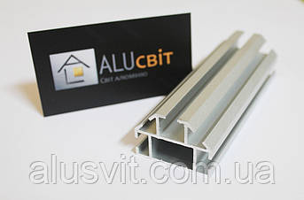 Алюминиевый профиль 2633 для торгового оборудования, фото 2