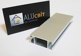 Алюминиевый профиль 2721 (1448) для торгового оборудования, фото 2