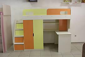 Детская кровать-чердак 7-3-3-87