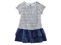 Платье летнее для девочки 5-6 лет бренд Lupilu