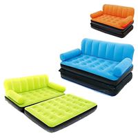 Надувной раскладной диван-кровать, трансформер 67356 Bestway (188x152x64см) с насосом