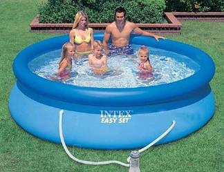 Надувной бассейн Intex с фильтр-насосом 366х76 см (28132)