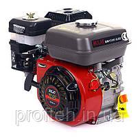 Двигатель бензиновый BULAT  BW170F-S/19 (7,0 л.с., шпонка Ø19мм, L=61мм) + доставка