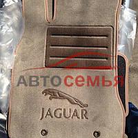 Ковры текстиль Jaguar XF 2008- (Cachemire SL 3D) (5шт/комп.)