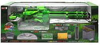 Детский шестиствольный пулемет с аккумулятором R0343
