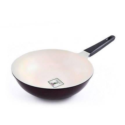 Сковорода-вок Fissman MERIDIAN 28 см с антипригарным покрытием AL-4678.28, фото 2