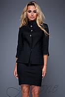 Стильный черный костюм Полли  Jadone  42-48  размеры