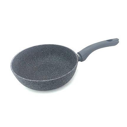 Сковорода глубокая Fissman VENETA 20 см алюминий с индукционным дном AL-4916.20, фото 2