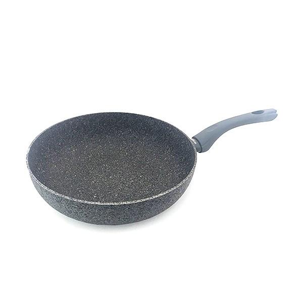 Сковорода глубокая Fissman VENETA 28 см алюминий с индукционным дном AL-4919.28