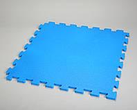 Цветные пазлы для детских игровых площадок 12мм, цвет синий