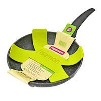 Сковорода без крышки Fissman GREY STONE 24 см AL-4969.24