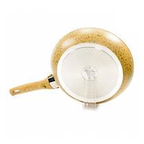 Сковорода без крышки Fissman Imperial Gold 26 см AL-4360.26, фото 3