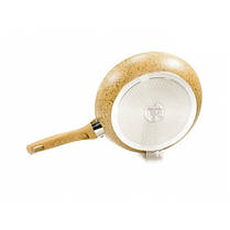 Сковорода без крышки Fissman Imperial Gold 28 см AL-4361.28, фото 3