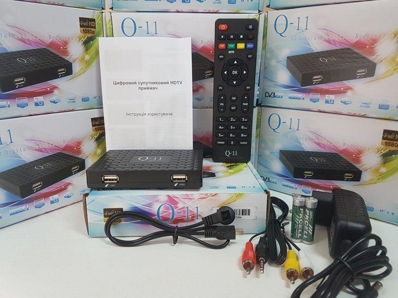 Супутниковий HD ресивер Q-SAT Q-11