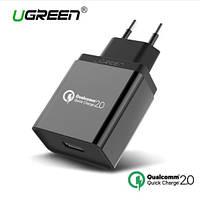 Ugreen Зарядное устройство Qualcomm Quick Charge 2.0