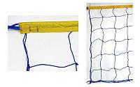 Сетка для волейбола Эконом15 UR со шнуром натяжения (ячейка 15х15 см)