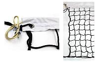 Сетка для волейбола Элит10 UR с металлическим тросом (ячейка 10х10см)