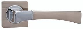 Дверная ручка Кедр R08.130 sn-cp  никель