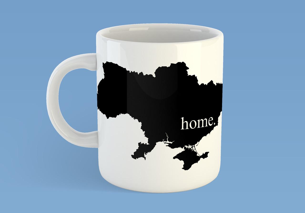 """Кружка """"Украина мой дом"""""""