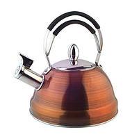 Чайник из нержавеющей стали FISSMAN CAIRO 2,3л KT-5910.2.3