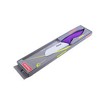 Нож сантоку Fissman SEMPRE 13 см белое керамическое лезвие KN-2127.ST