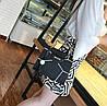 Каркасна сумка з ручками у формі котика і мозаїкою, фото 4