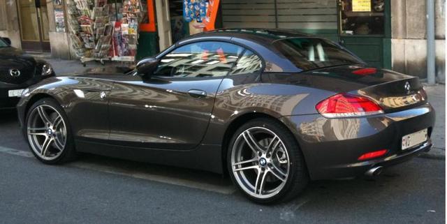 Диски и шины на BMW Z4 Е 89