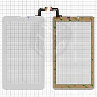 "Сенсорный экран (touchscreen) для Digma Hit 4G, 7.0"", 184-104мм, 31 pin, емкостный, белый, оригинал"