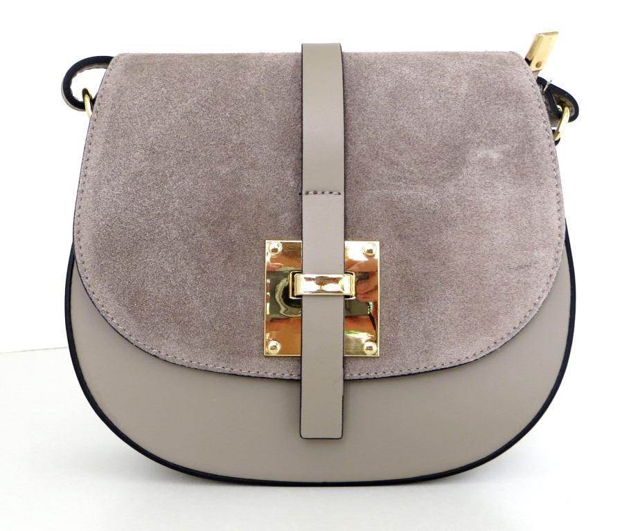 Жіноча маленька сумочка . Італія 100% натуральна шкіра . Сіра ... e0295bd44169b