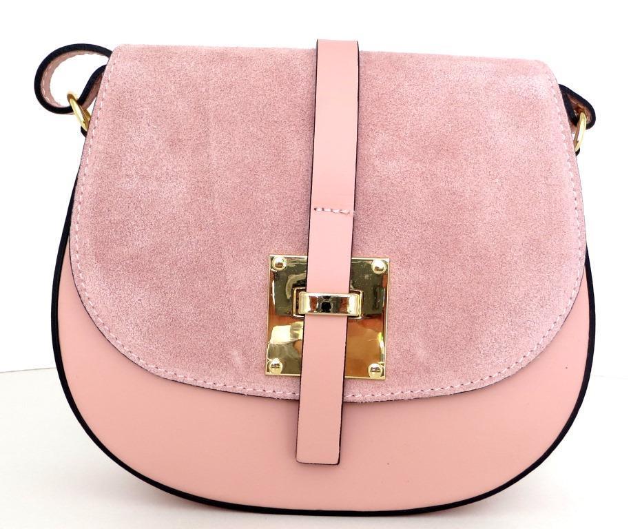 60446aef1966 Жіноча маленька сумочка . Італія 100% натуральна шкіра . Рожева ...