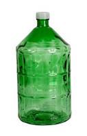Бутыль стеклянный 22л с крышкой (ТОЛЬКО САМОВЫВОЗ)