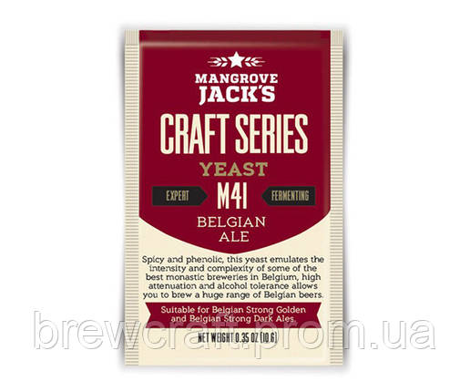 Дрожжи Craft Series M41 - Mangrove Jack's Belgian Ale  (10G), фото 2