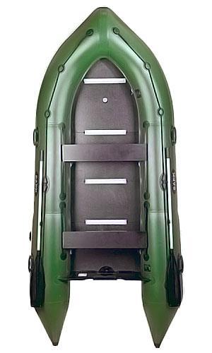 Надувная лодка из пвх Барк Bn-360s четырехместная моторная