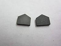 Пластина твердосплавная напайная 14512 ВК8 21мм
