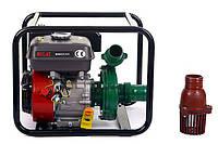 Мотопомпа бензиновая BULAT BW65/55 (36 м.куб/час, высоконапорная - 60 м) + доставка, фото 1
