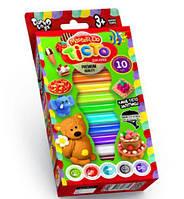 Набор креативного творчества Тесто для лепки master do коробка 10 цветов dankotoys tmd-02-02