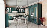 Кухня RODA ЛИЛЛЬ: современное прочтение прованса, фасады МДФ-окрашенные с нанесением патины