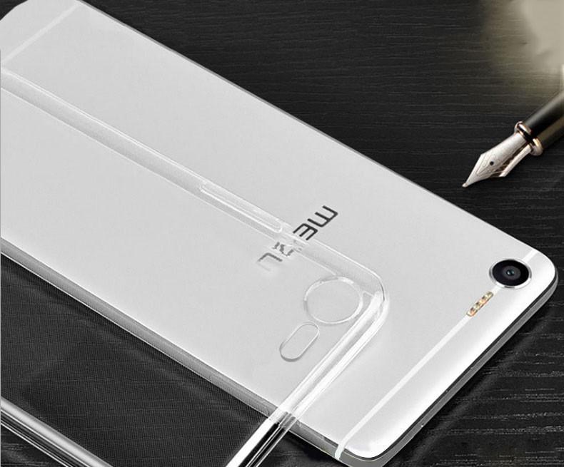Meizu E2 защитный силиконовый (ТРU) чехол бампер