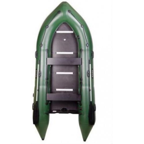 Надувная лодка Барк Bn-390s шестиместная моторная килевая