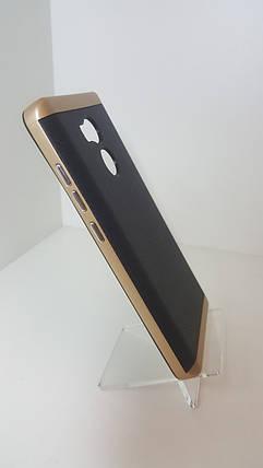 Чехол-бампер Ginzzu Carbon Xiaomi Redmi 4 Prime золото, фото 2