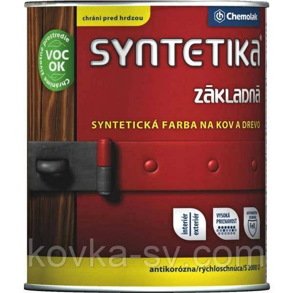 "Грунт антикоррозийный алкидный ""Syntetika S 2000 U"" 0,6"