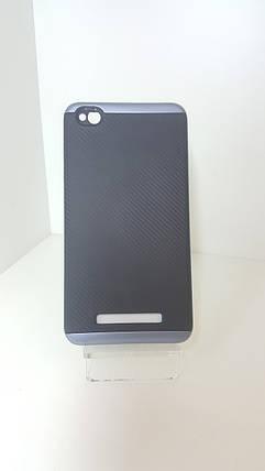 Чехол-бампер Ginzzu на Xiaomi Redmi 4А  серый, фото 2