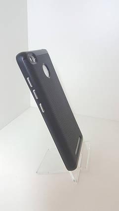 Чехол-бампер Ginzzu на Xiaomi Redmi 3s черный, фото 2