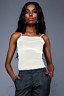 Элегантный топ Лози молоко Jadone Fashion 42-48 размеры