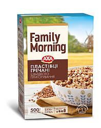 Хлопья гречневые АХА Family Morning 500г