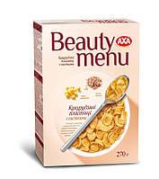 AXA Beauty menu. Кукурудзяні пластівці з висівками 270г